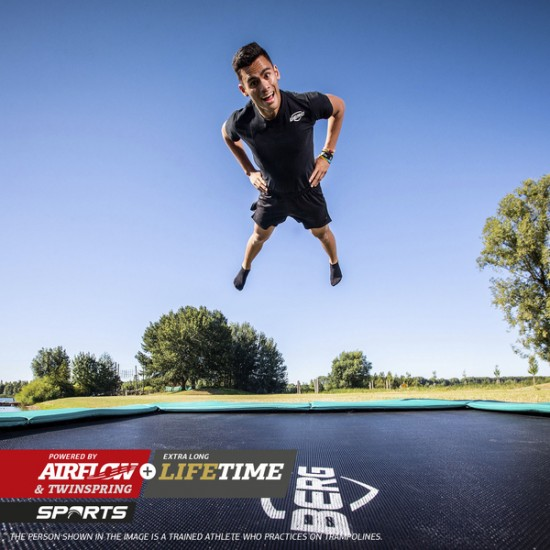 BERG Ultim Champion Flatground 410 cm batuut