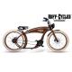 The Ruffian elektrijalgratas Pruun