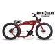 The Ruffian eBike Black Indian Red
