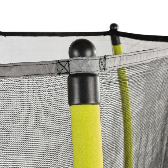EXIT Tiggy junior trampoline with safety ø140cm yellow