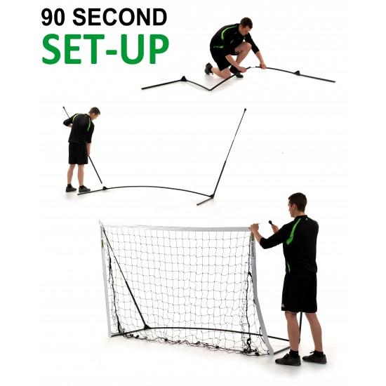 Jalgpallivärav Academy 8' x 5' (2.4 x 1.5m)