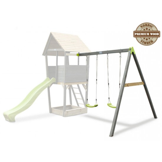 Aksent Playtower with swingarm