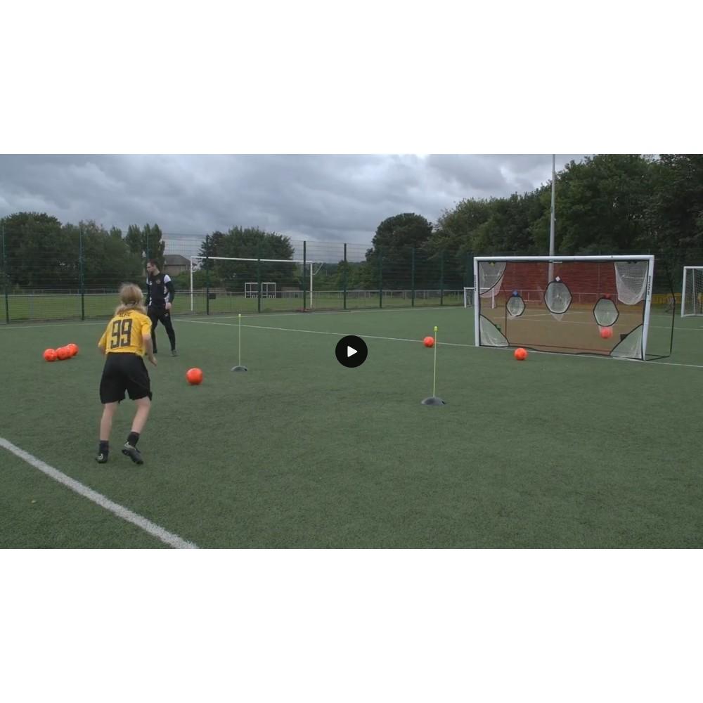 Quickplay 366 x 183 cm treeningvõrk jalgpalliväravale