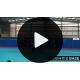 Quickplay 2.4 x1.7 m kokkupandav käsipallivärav